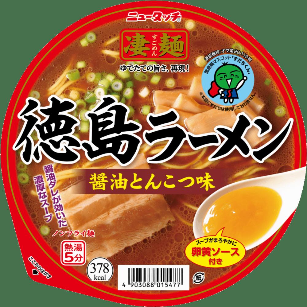徳島ラーメン醤油とんこつ味